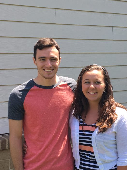 Lucas and Hailee Gardner