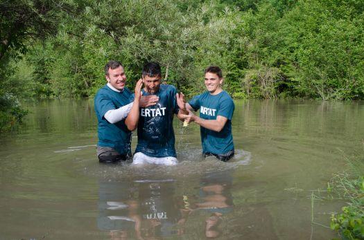Baptism_Garceni, Romania