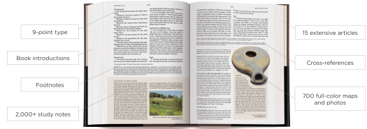 NIV Cultural Backgrounds Study Bible & ESV Archaeology Study