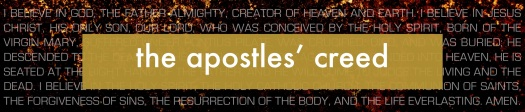 The Apostles Creed Banner (Main)