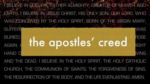The Apostles Creed